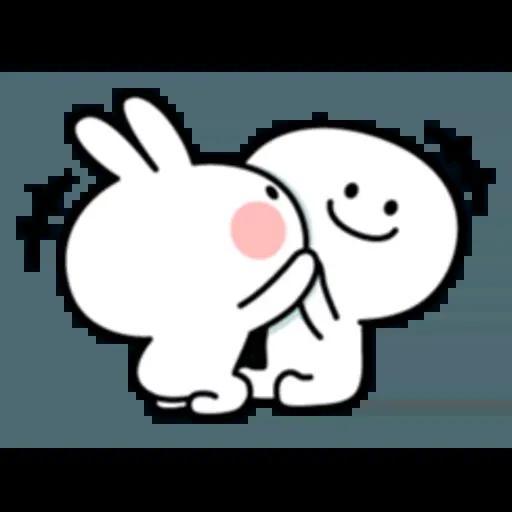 Spoiled rabbit 互相攻擊版 - Sticker 5