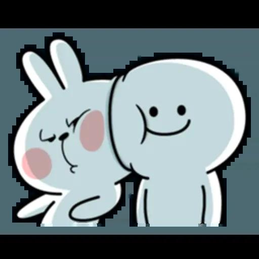 Spoiled rabbit 互相攻擊版 - Sticker 6