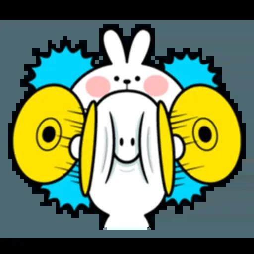 Spoiled rabbit 互相攻擊版 - Sticker 26
