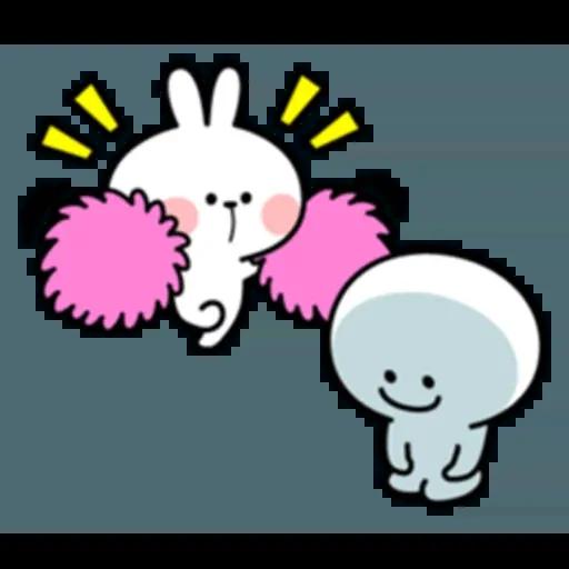 Spoiled rabbit 互相攻擊版 - Sticker 25