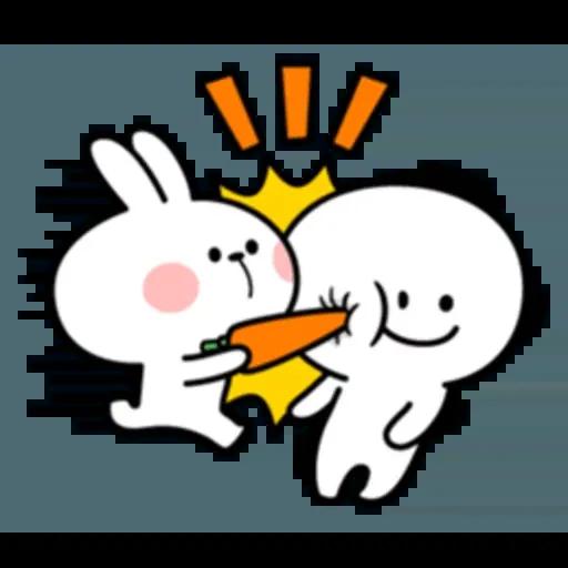 Spoiled rabbit 互相攻擊版 - Sticker 18