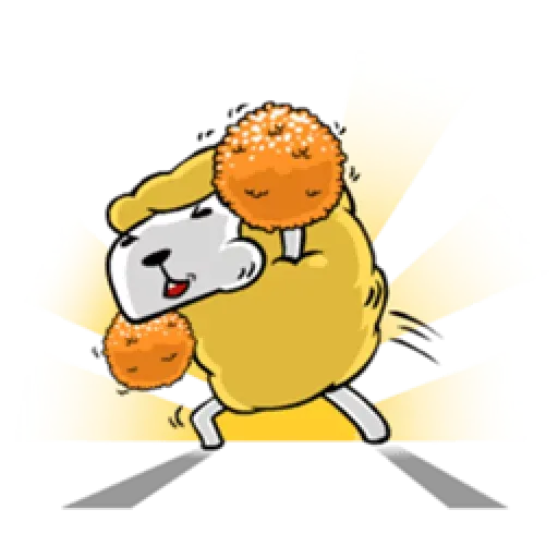 EAT ALL DAY SHEEP 1 - Sticker 8