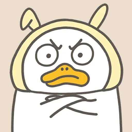 Duck - Tray Sticker