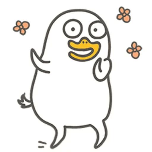 Duck - Sticker 11