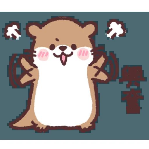 水水瀨 - Tray Sticker