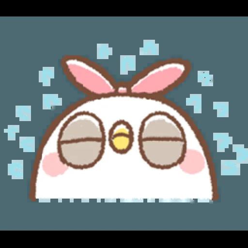"""太可愛了!誰能不""""鳥""""我 (1) - Sticker 12"""