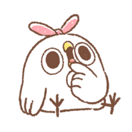"""太可愛了!誰能不""""鳥""""我 (1) - Sticker 19"""