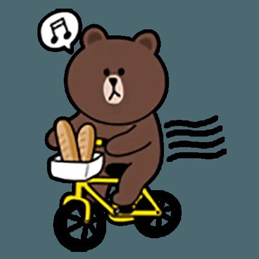 Brown - Sticker 2