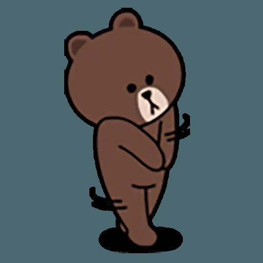 Brown - Sticker 13