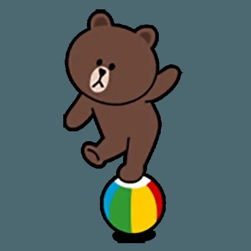 Brown - Sticker 28