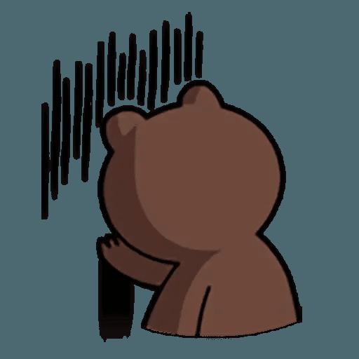 Brown - Sticker 12