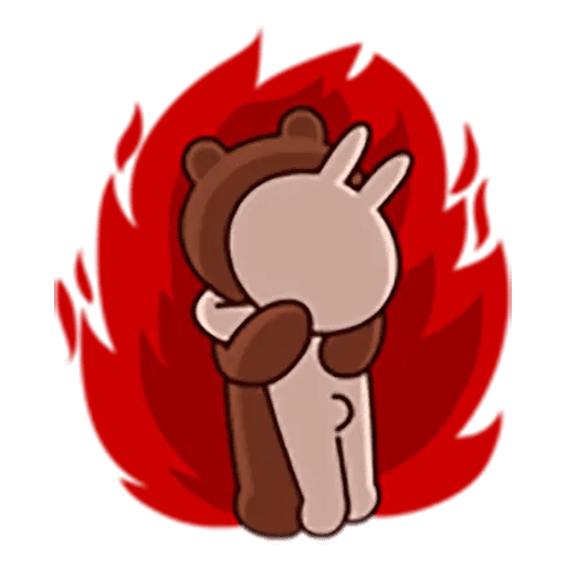 Brown - Sticker 18