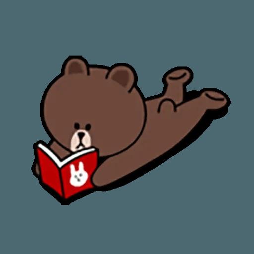 Brown - Sticker 30