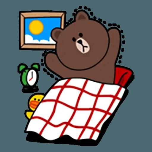 Brown - Sticker 7