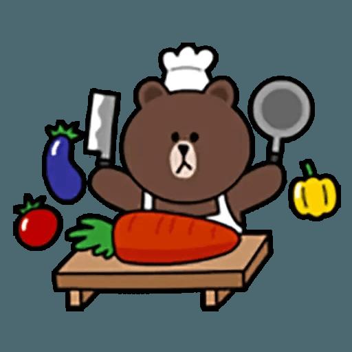 Brown - Sticker 19