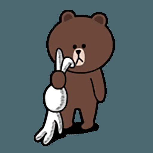 Brown - Sticker 1