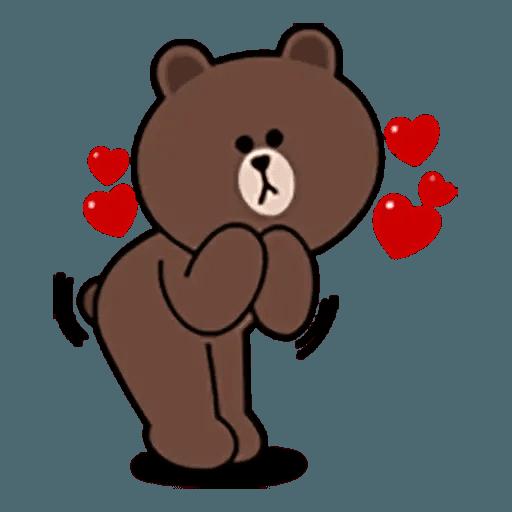 Brown - Sticker 3
