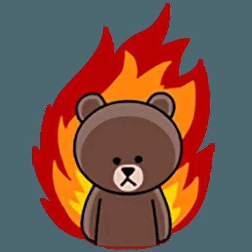 Brown - Sticker 14
