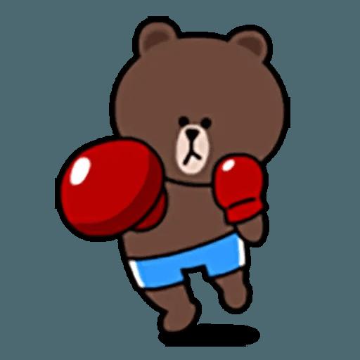 Brown - Sticker 5
