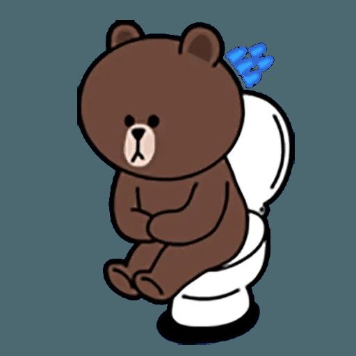 Brown - Sticker 11
