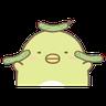 角落生物 - 企鵝 - Tray Sticker