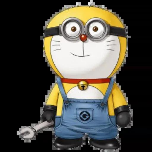 Doraemon superhéroes - Sticker 24