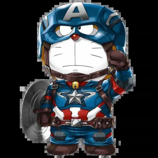 Doraemon superhéroes - Sticker 13