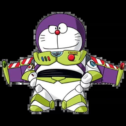 Doraemon superhéroes - Sticker 19