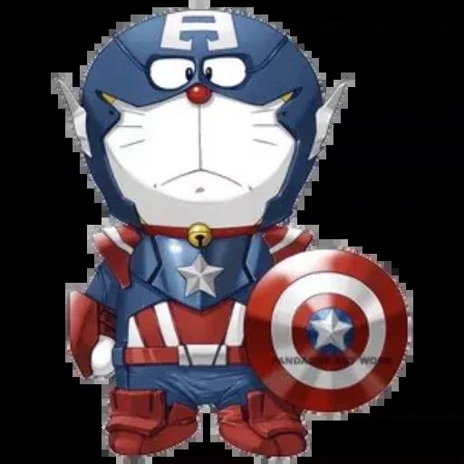 Doraemon superhéroes - Sticker 12
