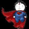 Doraemon superhéroes - Tray Sticker