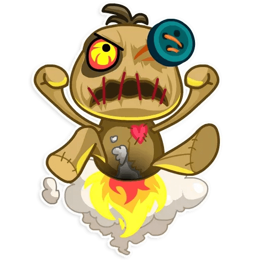Voodoo Doll - Sticker 6