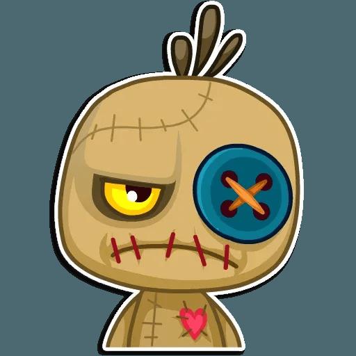 Voodoo Doll - Sticker 16
