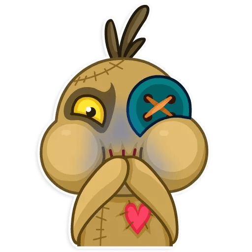 Voodoo Doll - Sticker 23