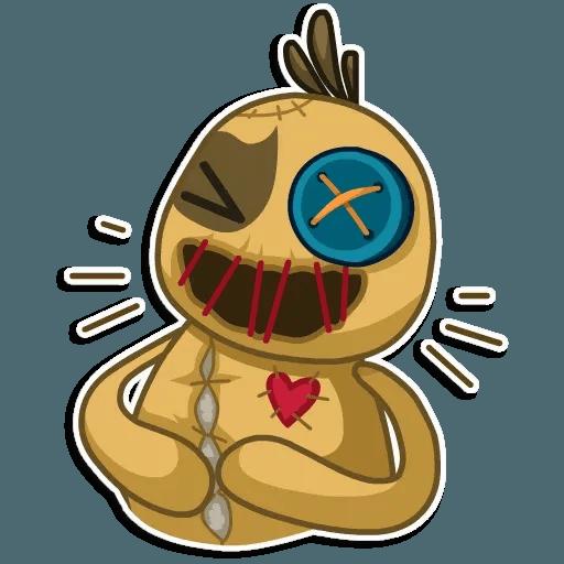 Voodoo Doll - Sticker 2