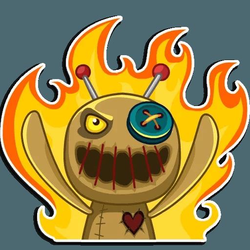 Voodoo Doll - Sticker 25