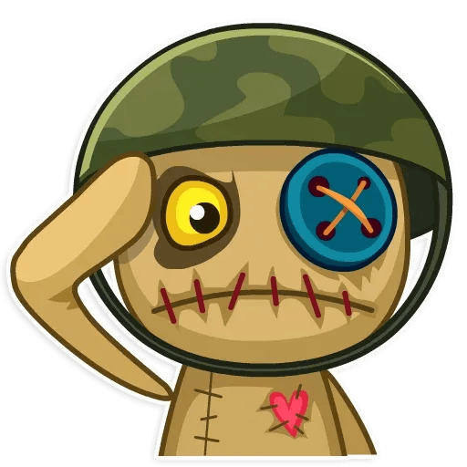 Voodoo Doll - Sticker 17