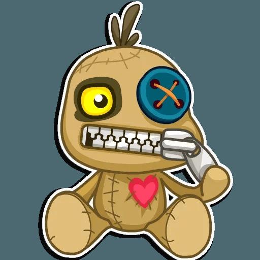 Voodoo Doll - Sticker 5
