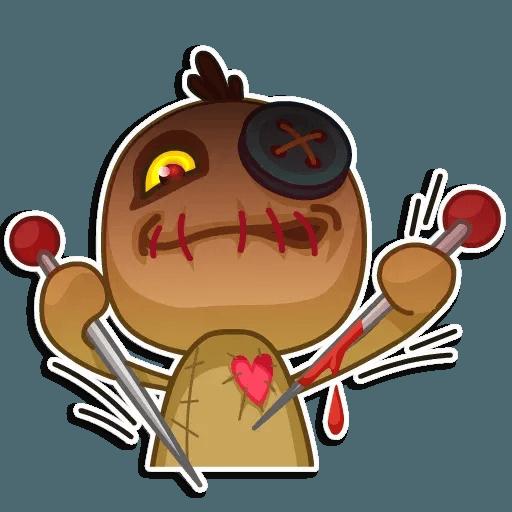 Voodoo Doll - Sticker 13