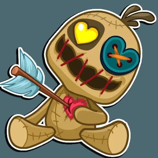 Voodoo Doll - Sticker 10