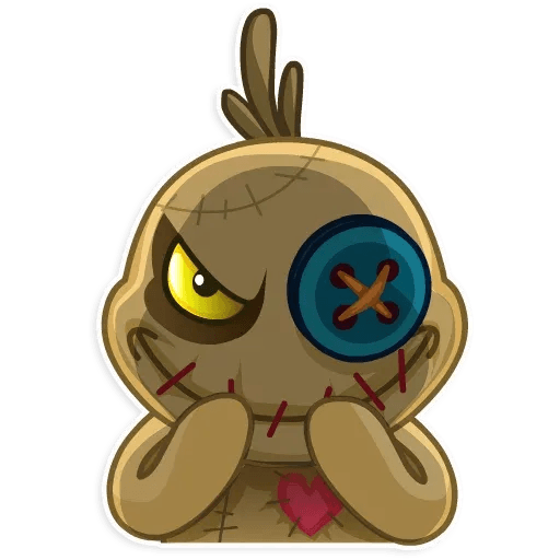 Voodoo Doll - Sticker 11