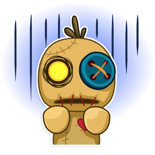Voodoo Doll - Sticker 4