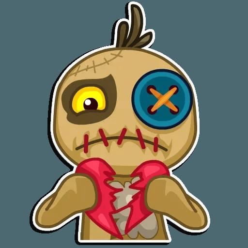 Voodoo Doll - Sticker 15