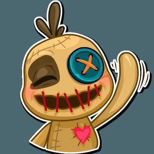 Voodoo Doll - Sticker 8
