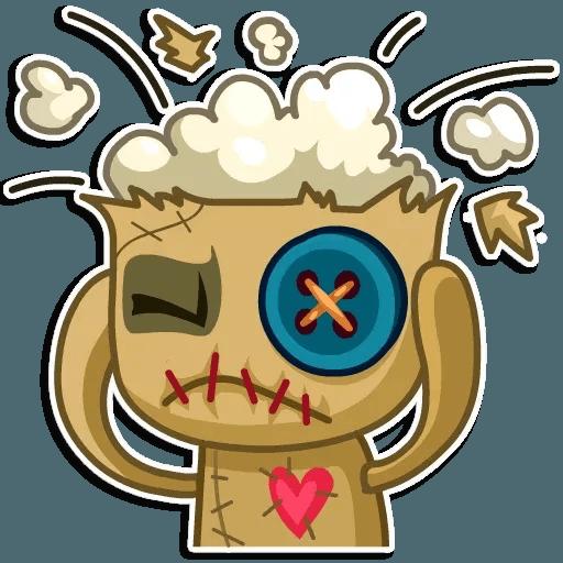 Voodoo Doll - Sticker 7