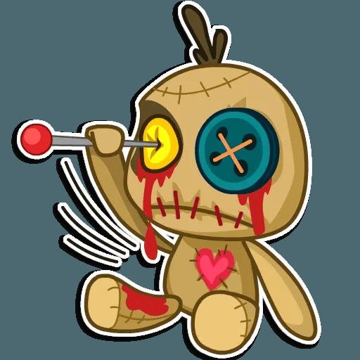 Voodoo Doll - Sticker 9
