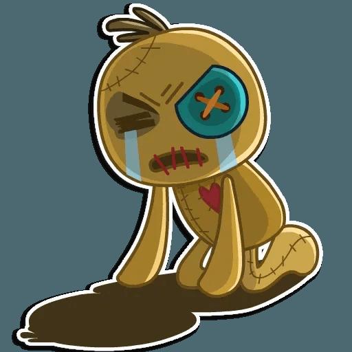 Voodoo Doll - Sticker 21