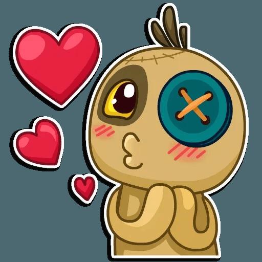Voodoo Doll - Sticker 3