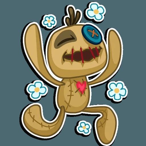 Voodoo Doll - Sticker 12