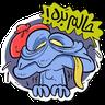Ghoori - Tray Sticker
