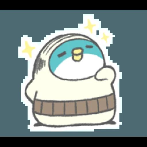 PP mini 小小企鵝 -小老頭 (2) - Sticker 2